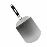 Argon Tableware Klappbare Pizzaschaufel/Pizzapaddel. Edelstahlblatt, ergonomischer Handgriff - 1