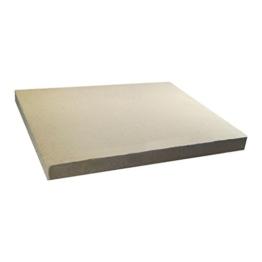 daniplus Pizzastein Brotbackstein Schamottstein lebensmittelecht 400x300x30mm für den Backofen - 1