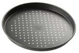 Dr. Oetker Pizzablech Ø 28 cm mit Antihaft-Wirkung, Backblech für tiefgekühlte & selbstgemachte Pizza, rund & antihaftbeschichtet, Menge: 1 Stück - 1
