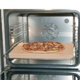 Europart 10021639 Pizzastein Brotbackstein Schamottstein lebensmittelecht 400x300x30mm universell einsetzbar Backofen Ofen Herd Grill für Pizza Brot Flammkuchen - 1