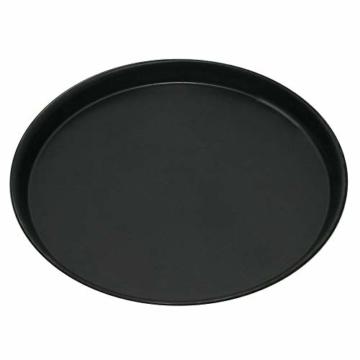 GRÄWE Pizza Backblech Ø 30 cm, rund, Pizzablech aus Blaublech, hitzebeständig bis 400 °C, unbeschichtet, Made in Germany - 1