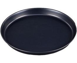 GRÄWE Pizzablech rund 36 cm (innen 35 cm) mit hochwertiger Keramikbeschichtung - 1