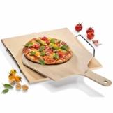 Küchenprofi BBQ Pizzaschieber, Pizzaschaufel, Holz natur - 1