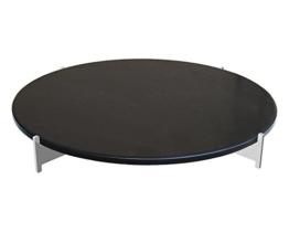 LotusGrill Pizzastein-Set für Serie 435 XL, Schwarz, 45,7 x 45,6 x 6,5 - 1