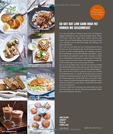 Low Carb Kochbuch: Easy. Überraschend. Low Carb. Das große LCHF-Kochbuch Abnehmen mit genialen Rezepten auch für Brot, Brötchen, Pizza, ... Knödel und Püree (Gesund-Kochbücher BJVV) - 2