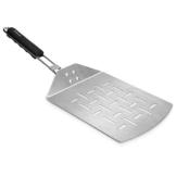Navaris Pizzaschaufel faltbar aus Edelstahl - 44x18,5cm - Faltbare Schaufel mit extragroßer Fläche für Pizza Brot Flammkuchen - auch für Grill - 1