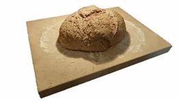 Pizzastein Brotbackstein Flammkuchenplatte aus Speicherschamotte, Für E-Herde - 1