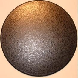 Pizzastein, Heißer Stein, Grillstein aus glasiertem Cordierit 380x10mm - 1