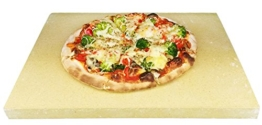 Pizzastein Pizzaplatte Steinofen Flammkuchen 40x30x3cm - 1