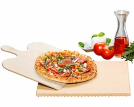 ROMMELSBACHER PS 16 - PIZZA-/BROTBACKSTEIN SET - 35x35 cm - 1