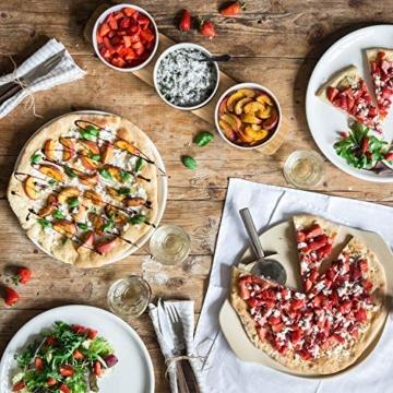Villeroy & Boch Pizza Passion Pizzastein, Steinzeug (Cordierit) - 6