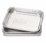 Weber® Alu-Tropfschalen, klein, 10 Stück - 1